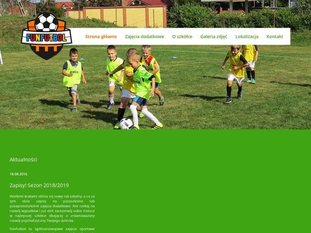 Zajęcia dla dzieci olsztyn • funfutbol.pl (FunFutbol